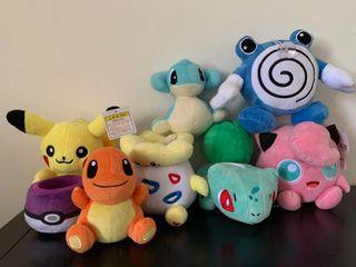 Pokemon Stuff toys bundle