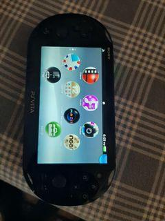 Psvita with two games