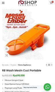 Re Wash Mesin Cuci Portable