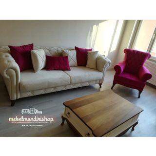 Set Sofa Tamu Minimalis