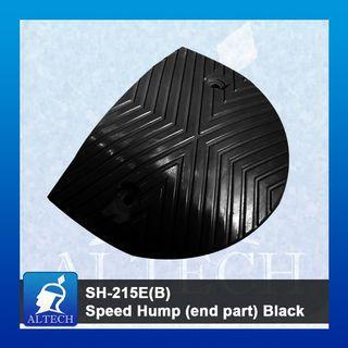 SH-215E(B) Speed hump (end part) Black