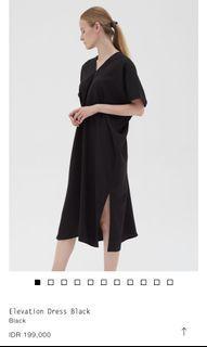 SHOP AT VELVET ELEVATION DRESS BLACK