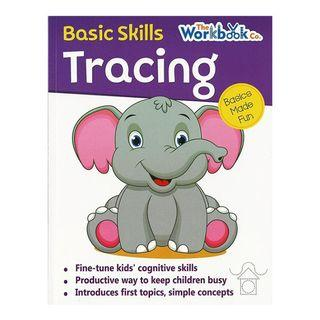 The Workbook Co. Basic Skills Tracing   English   Activity Book   Work Book   Children's Book