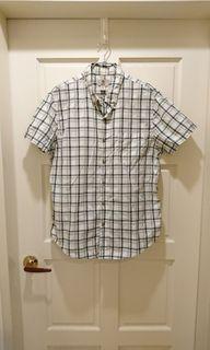 (美國牌)Timberland 綠格紋襯衫#防疫