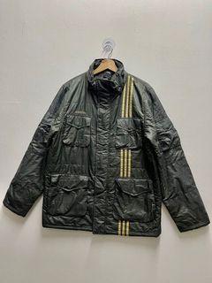 🔥Vintage Adidas Michel Samba Multi Pocket Jacket