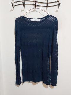 Zara knit sweater jaring