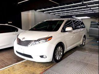 2015 Toyota sienna limited(3代) 3.5l 可視訊賞車/倒顯/定速/雙天窗/盲點/三排電動座椅/雙電動滑門/電動尾門/i-key