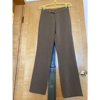 全新女性格紋長褲(28吋腰圍)