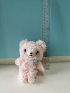 粉紅色小熊吊飾