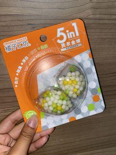 橘子工坊 5in1 洗衣金球