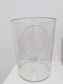 透明垃圾桶 簡約 #防疫