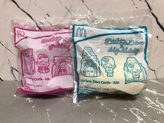 (包郵) Little Twin Stars 麥當勞開心樂園餐玩具  #ilovemykids