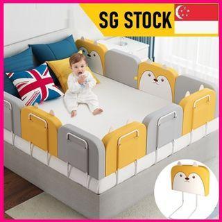 Baby bed rail guard bed bumper cushion