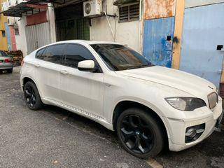 *BMW X6 FULL SPEC* *XDRIVE 40D DIESEL (AUTO)* *IMPORT SPEC* *PUSH START* *PEDALSHIFT&SHIFTRONIC GEAR* *HOMETEATHER SYSTEM* *POWER BOOT&REVERSE CAMERA* *SURROUNDing *SUNROOF* *ELECTRONIC& LEATHER SEAT 2010/2013* Chassis dah ketuk data total lost