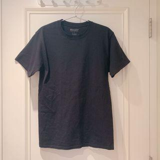 Champion 黑色短袖T恤S