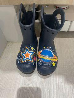 Crocs 兒童雨鞋 17.5cm