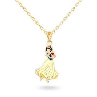 《二手特賣》Disney迪士尼白雪公主 項鍊