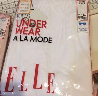百貨專櫃品牌ELLE  女童白色長褲 8號