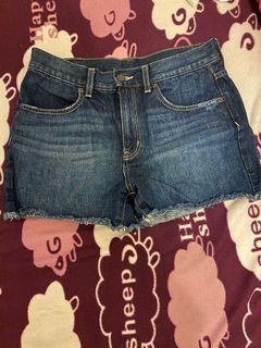 GU 牛仔短褲