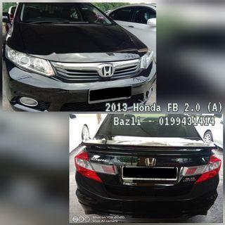Honda Civic FB 2.0 (A) S spec