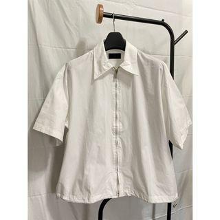 韓國HUE短袖襯衫外套