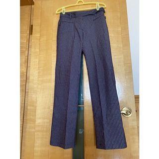 全新日本IENA女性條紋褲(M號)
