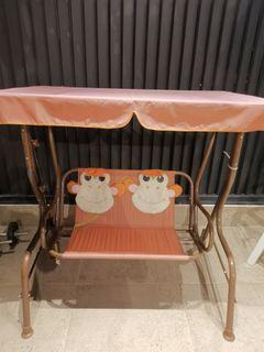 REDUCED Price MUST Move Out- Kids outdoor indoor swing - One of a kind