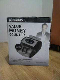Mesin hitung uang (Value Money Counter) Krisbow