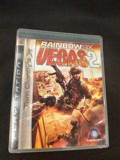 💖PS3💖 TOM CLANCY'S RAINBOW SIX VEGAS 2第二輯。彩虹六號VEGAS2 💖💖TOM CLANCY'S長久系列槍戰射擊攻堅第一身組隊射擊遊戲必玩之作💖雙雙點擊圖片有更多遊戲內容💖 PLAYSTATION 3