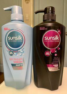 Sunsilk 2 Variant ( Light Blue & Black) 650ml per bottle