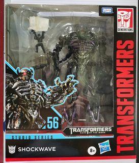 Transformers studio series shockwave misb