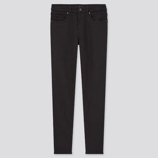 Uniqlo Skinny Fit Stretch Jeans In Black