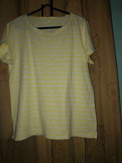 Uniqlo yellow top