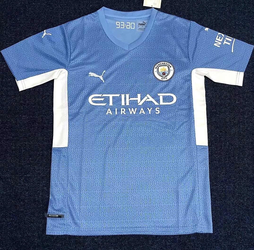 2021 2022 Manchester City Home Away Kit Sports Equipment Other Sports Equipment And Supplies On Carousell
