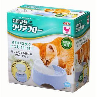 日本 GEX 貓用 圓滿平安飲水機