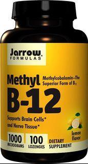 美國 Jarrow Formulas 活性維他命B12 容易吸收 腦及神經 100粒 Methyl B-12 Methylcobalamin 1000mcg 現貨