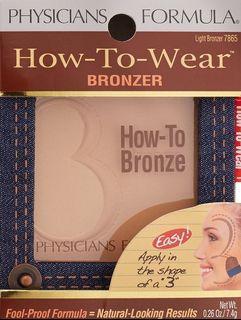 美國 Physicians Formula How To Wear Bronzer Light Bronzer 淺古銅色 陰影粉 修容粉 連掃 特價