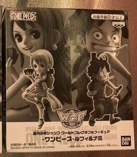 全新日版海賊王 Weekly Jump 和之國限定路飛娜美一套 WCF (正常盒)One Piece Luffy Nami