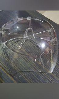 Acrylic face shield 3pcs available