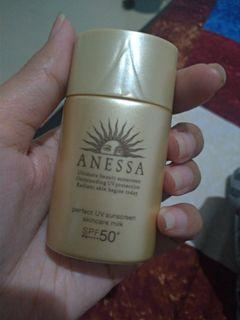 Anessa sunscreen SPF 50 PA++++