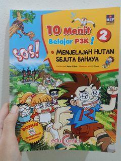 Buku pengetahuan anak 10 menit belajar p3k