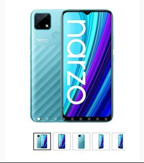 Cicilan Promo Bunga 1,88% Free Admin realme Narzo 30A 4/64GB - Blue