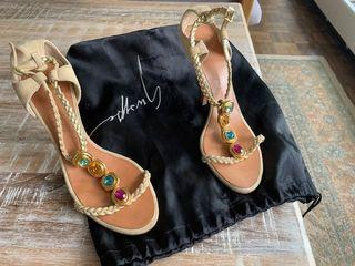 Giuseppe Zanotti Jewel Detailed Heels on Sale!!