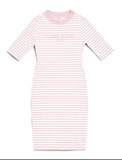 SOLD-Guess Striped Bodycon Dress