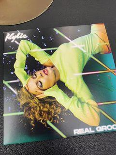 Kylie Minogue Real Groove LP green ep