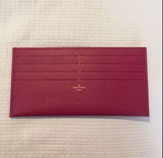 New Louis Vuitton card holder insert