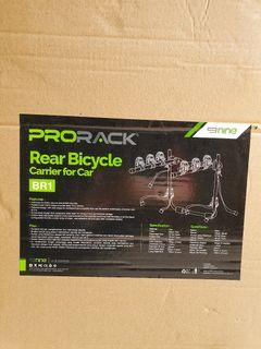 ProRack Rear Bicycle Carrier for Car Rak Sepeda