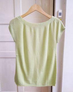 Simple Baby Green Knitted Top