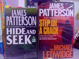 Take all james patterson hide and seek, step on a crack