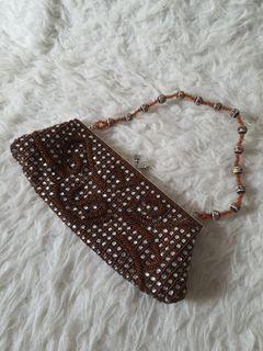 Tas Pesta Mute 22x11cm (ada tali panjangnya)